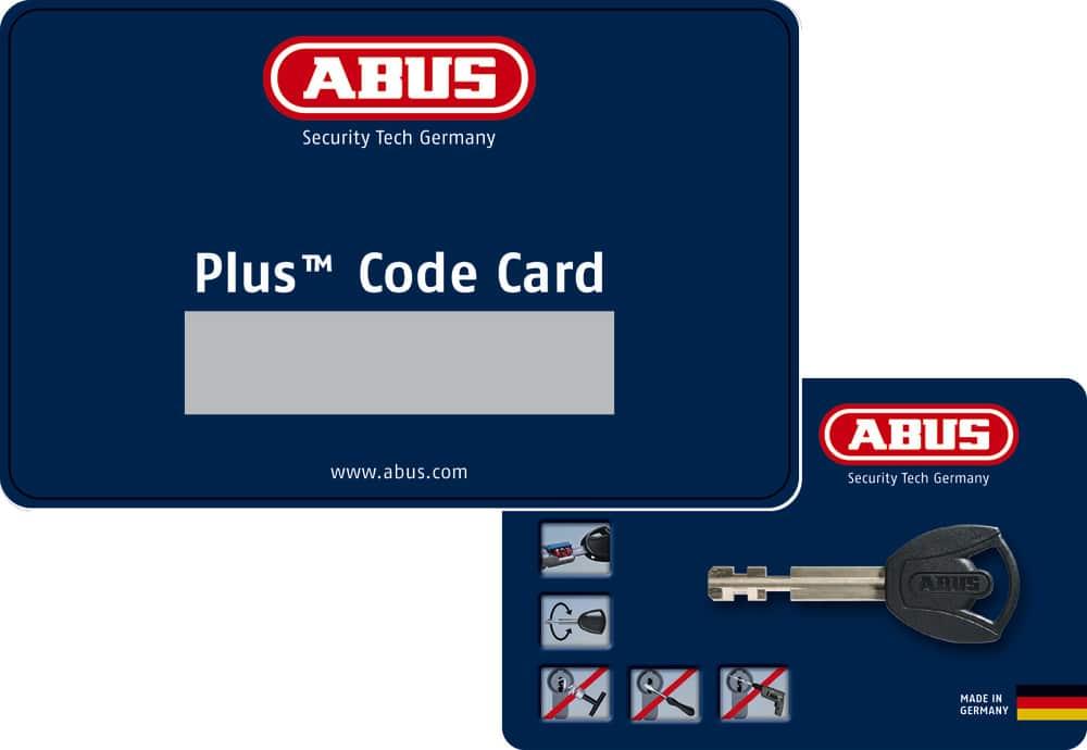 ABUS Keyed alike system